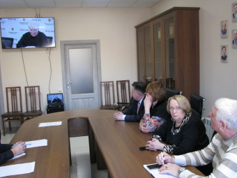 Трансляция вебинара ФПА РФ 17.02.2017 г. в Адвокатской палате Астраханской области